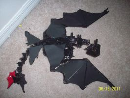 painted k'nex toothless by SnowstormSpirit2285