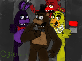 Five Nights at Freddy's - Animatronics by ogiemon