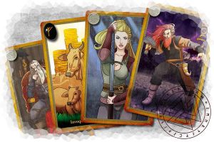 Bifrost Cardgame by roemesquita