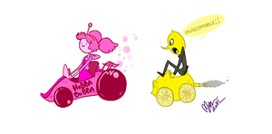 Candy Kingdom Racers part 1 by miggea