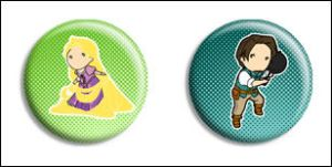 Tangled Buttons by Maxx-V