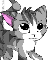 [100 pageviews special!]Chi fanart by Tenebrus-Liepard
