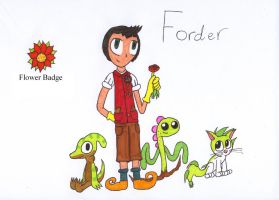 Fan made gym leader Forder (Redesign) by AndkeAnka