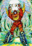 Rodimus Prime (DX9 Carry) by JoeTeanby