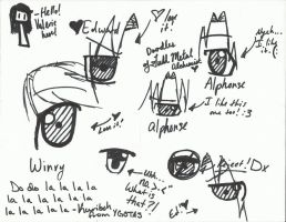 Full Metal Alchemist Eye Practice :3 by arielqt1090
