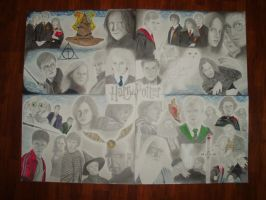 Harry Potter Collage by Jessica17