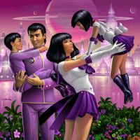 Saturn and Family by AlanGutierrezArt