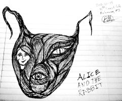 Alice And The Rabbit by flowofwoe
