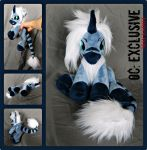 Exclusive: MLP OC Plush Baby Beanie Commission by MayEsdot