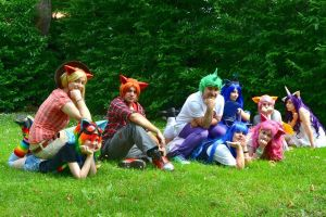 MLP - Friendship is magic ~ Group by Euphiecosplay