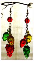 Fruits to Nuts Earrings by heatherazzi