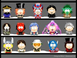 My own South Park characters 7 by Zwerg-im-Bikini
