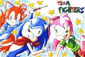 Classic Team Fighters by General-RADIX