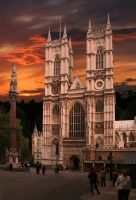 Westminster Abbey - London by Vangha