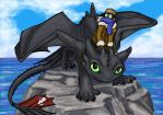 Hiccup and Toothless - Dressed For the Elements by Skylanth