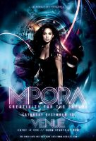 Mpora Flyer Template by renderyourmind