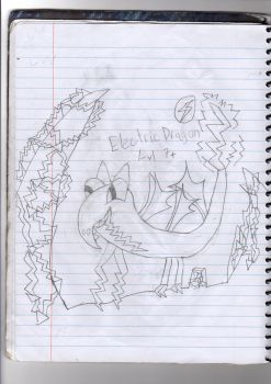 Cringy Art#2: Electric Dragon Adult by NeonDecrypter