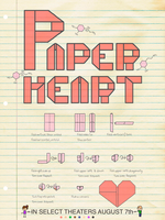 Paper heart poster by fluffytuft