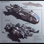 Heavy Escort Cruiser Hound by KaranaK