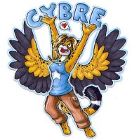 Cybre Badge by Kata
