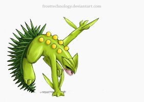 Sceptile by FrostTechnology