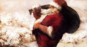 santa by leventep