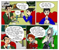 In which Edgeworth goes A-Larping by Bladefinger