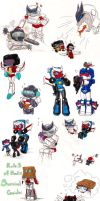 G1 Chibi Dump 5 by Crescent-moon-demon
