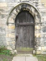 Medieval Door by ED-resources