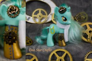 Steampunk Lyra by bluepaws21