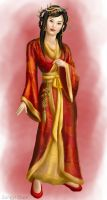 Hanfu lady by serpentdoness