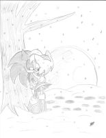 Sonamy Snowy Night by AdiPrower94