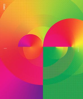 Poster color circles by tariqdesign