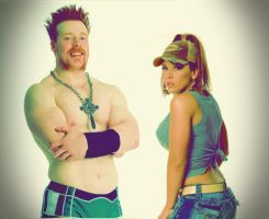 Sheamus and Mickie Graphic by verusImmortalis