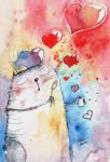 Love is in the air by bemain