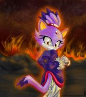 Blaze: The Flames by The-White-Hedgies