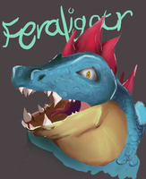 Feraligatr by takugirl