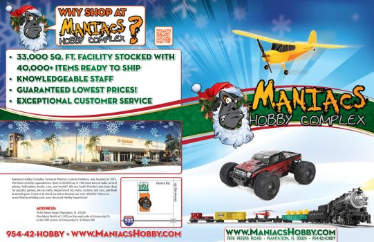 Maniacs Hobby Holiday Catalog 2013 - Covers by jPhive