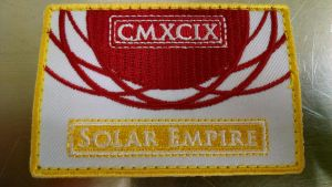 MLP-Fim: Solar Empire (Flag Patch by Shirlendra