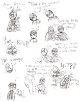 9 Sketchdump :B by Lily-pily