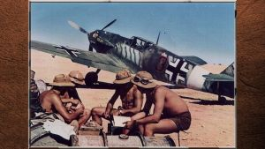 3RD REICH LW Bf-109 E-4 and JG27 markings. by PanzerBob