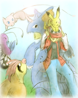 Harriet's Team - Kiriban Prize by Pokemontrainergigi