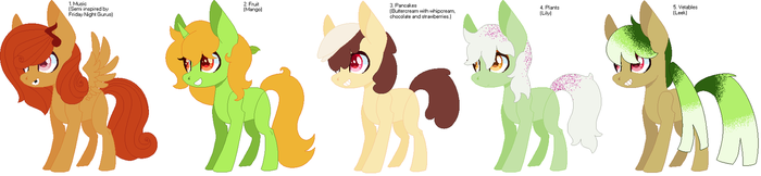 1-5 of 100 themes adoptable by CheshireGrinAdopts