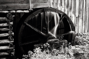The Water Wheel at the Cable Mill by UriahGallery