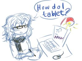 I Got A Tablet! :'D by Ana-The-Unknown