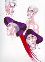 Frollo times Four by Howlingmojo