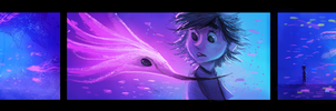 DAY 487. Color Script Practice - Random Dream by Cryptid-Creations