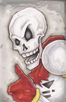 Undertale Papyrus by ChrisOzFulton