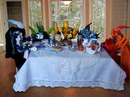 Bionicle Thanks Giving by Pearllight180
