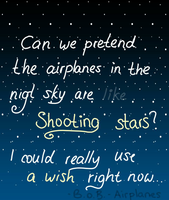 Shooting stars? (Day 320) by Hedwigs-art